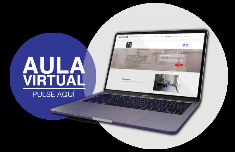 Pulsa para Aula Virtual